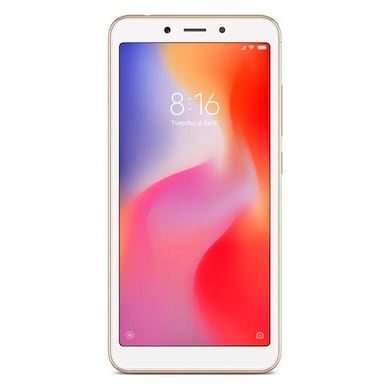 Redmi 6 (Gold, 3GB RAM, 32GB) Price in India