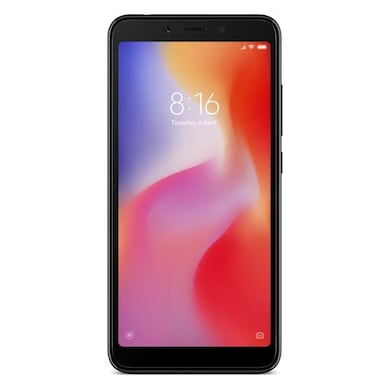 Redmi 6 (Black, 3GB RAM, 64GB) Price in India