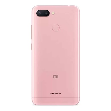 Redmi 6 (Rose Gold, 3GB RAM, 64GB) Price in India