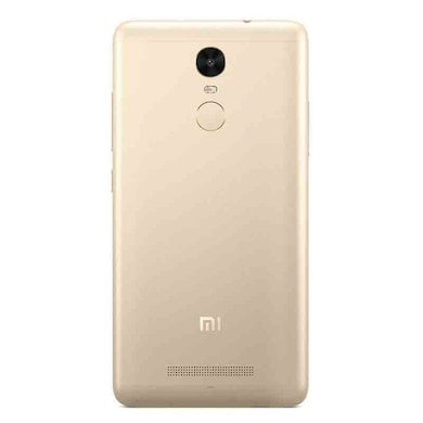 Redmi Note 3 + Pisen 10000 mAh Power Bank (Gold, 2GB RAM, 16GB) Price in India