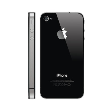 Refurbished Apple iPhone 4 (Black, 512MB RAM, 16GB) Price in India