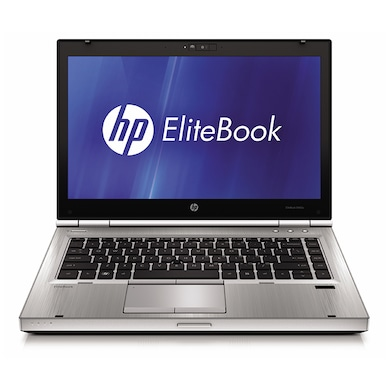 Refurbished HP Elitebook 8470P 14 Inch Laptop (Core i5 3rd Gen/4GB/250GB/DOS) Silver Price in India