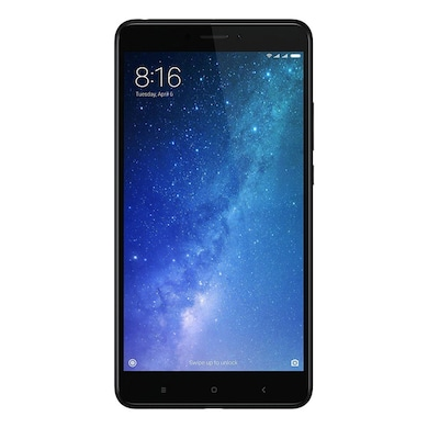 Pre-Owned Mi Max 2 (Black, 4GB RAM) Price in India