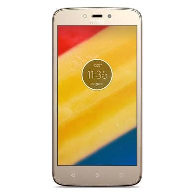 Refurbished Moto C Plus (Fine Gold, 2GB RAM, 16GB) Price in India