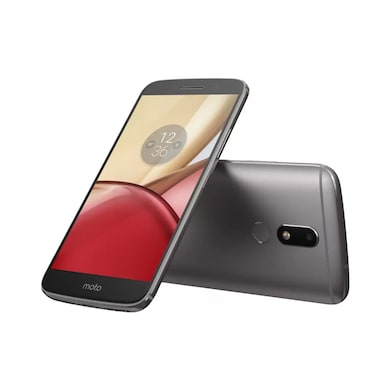 Refurbished Moto M (Grey, 3GB RAM, 32GB) Price in India