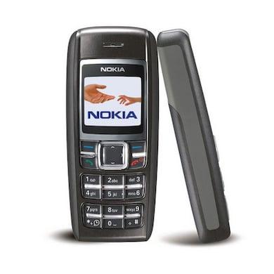 Refurbished Nokia 1600,900 mAh Battery,Single SIM (Black) Price in India