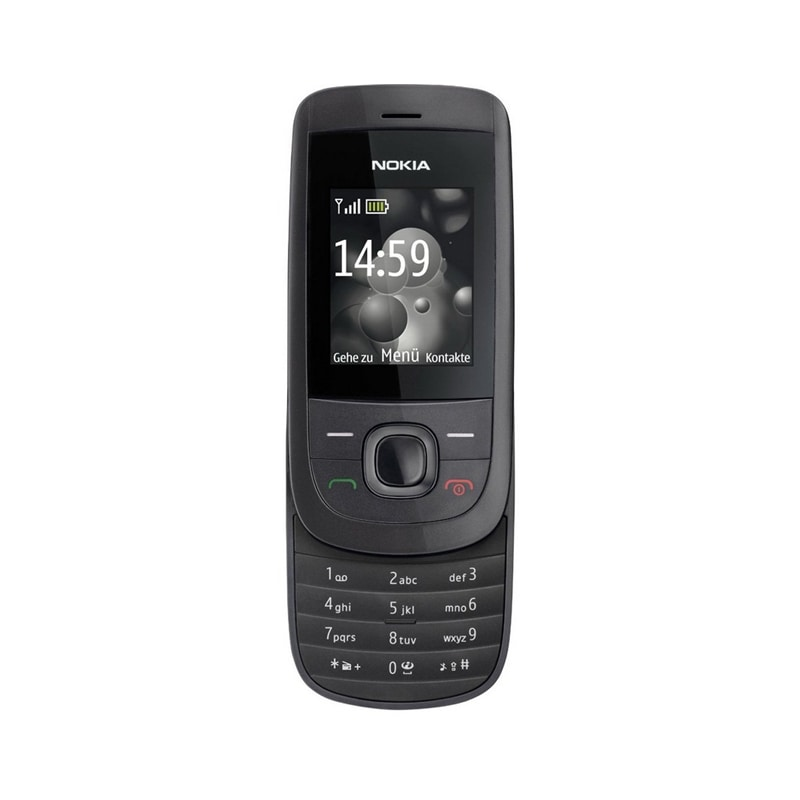 Buy refurbished nokia 2220 stylish slider mobile with for Mobel stylisch