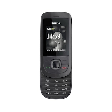 Refurbished Nokia 2220 Stylish Slider Mobile With Camera (Black) Price in India