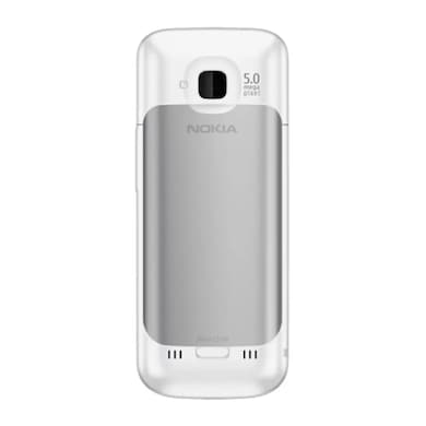 Refurbished Nokia C5 with 5 MP Camera (White, 128MB RAM, 50MB) Price in India