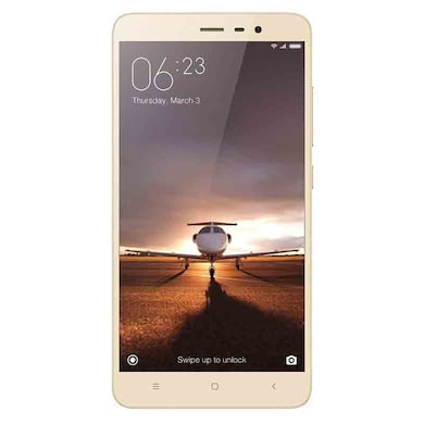 Refurbished Redmi Note 3 16 MP Fingerprint Unlock (Gold, 3GB RAM, 32GB) Price in India