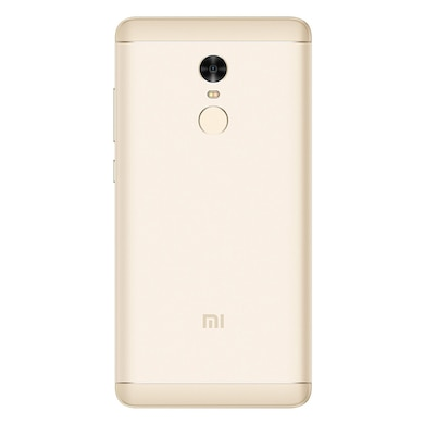 Refurbished Redmi Note 4 +Free Earphone with Mic for All Android/iPhones (Gold, 3GB RAM, 32GB) Price in India