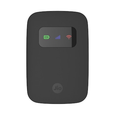 Reliance JioFi 3 4G Personal Hotspot Router Black Price in India
