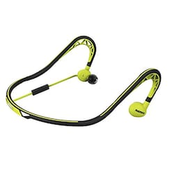 27f5304af43 Remax S15 Sweat Proof In The Ear Sports Neckband Earphones Green Price in  India