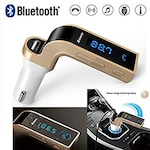 Buy Rissachi RI-CarG7 Bluetooth USB Charger Gold Online