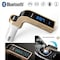 Rissachi RI-CarG7 Bluetooth USB Charger Gold Price in India
