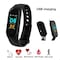 Rissachi RI-M3 Intelligence Bluetooth Health Wrist Smart Band Black Price in India