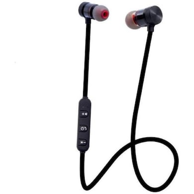 Rissachi RI-MGBT01 Magnet Bluetooth Headset with Mic Black Price in India