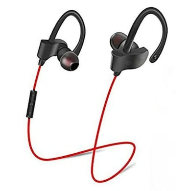 Rissachi RI-QC10S Wireless Bluetooth Headset with Mic Black Price in India