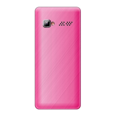 Rocktel Selfie S4 1000 mAh Battery,Bluetooth and FM (Pink and White) Price in India