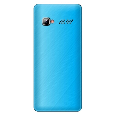 Rocktel Selfie S4 1000 mAh Battery,Bluetooth and FM (Blue and White) Price in India
