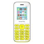Buy Rocktel W9 Digital Camera, FM, Bluetooth and Dual Sim White And Green Online