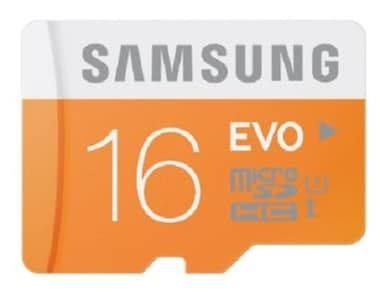 Samsung Evo 16 GB Class 10 MicroSDHC Memory Card 16 GB Price in India