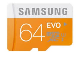 Samsung Evo 64 GB Class 10 MicroSDHC Memory Card 64 GB Price in India