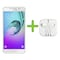 Refurbished Samsung Galaxy A5 +Free Earphone with Mic for All Android/iPhones (White, 2GB RAM, 16GB) Price in India