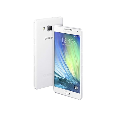 Unboxed Samsung Galaxy A7 (2GB RAM, 16GB) White Price in India