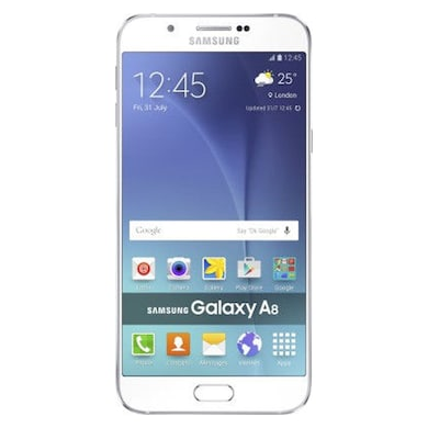 Unboxed Samsung Galaxy A8 (White, 2GB RAM, 32GB) Price in India