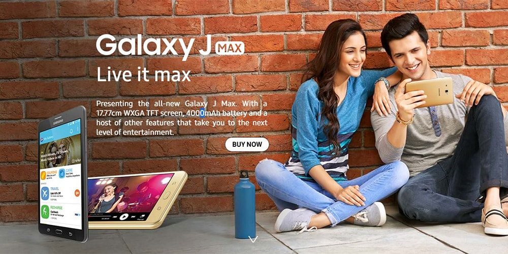 Samsung Galaxy J Max With Wi-Fi+4G Tablet Photo 5