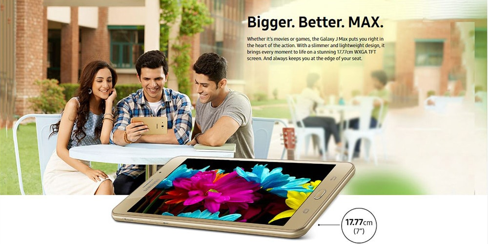 Samsung Galaxy J Max With Wi-Fi+4G Tablet Photo 6