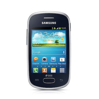 Pre-Owned Samsung Galaxy Star (Noble Black, 512MB RAM) Price in India