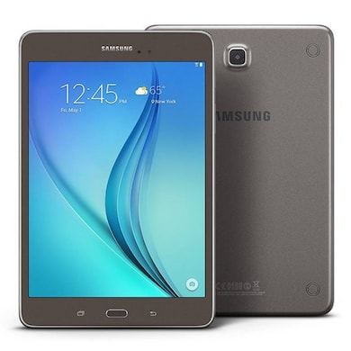 Samsung Galaxy Tab A - T355Y with Wi-Fi + 4G Smoky Titanium, 16 GB Price in India