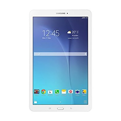 Samsung Galaxy Tab E SM-T561 Wi-Fi+3G+Voice Calling Tablet Pearl White, 8GB Price in India