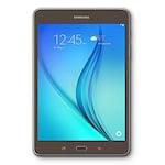 Buy Samsung Tab A SM-T355YZWA Wi-Fi+3G+Voice Calling Tablet Smoky Titanium, 16GB Online