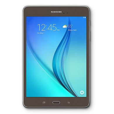 Samsung Tab A SM-T355YZWA Wi-Fi+3G+Voice Calling Tablet Smoky Titanium, 16GB Price in India