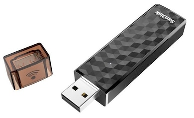 SanDisk Connect Wireless Stick 16 GB USB 2.0 Pendrive Black Price in India