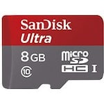 Buy SanDisk Ultra 8 GB Class 6 MicroSD Memory Card 8 GB Online