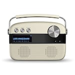 Buy Saregama Carvaan Hindi SC03 Portable Digital Music Player with Remote Porcelain White Online