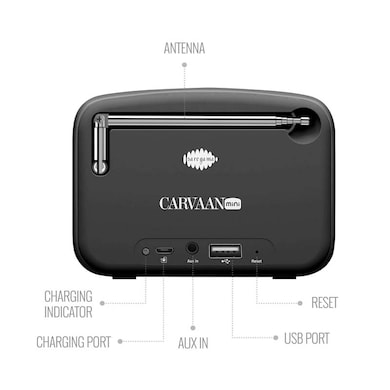 Saregama Carvaan SCM02 Mini 2 0 Bluetooth Speaker