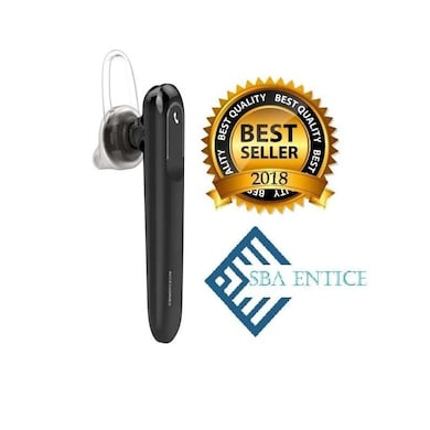 SBA Entice LB300 Mono Bluetooth Headset With Mic Black Price in India