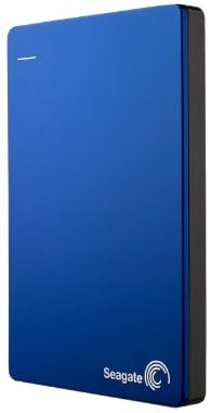 Seagate Backup Plus Slim 2 TB Portable External Hard Drive with 200 GB Cloud Storage (Blue, Mobile Backup Enabled) Price in India