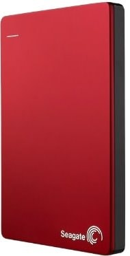 Seagate Backup Plus Slim 1 TB Portable External Hard Drive with 200 GB Cloud Storage (Red, Mobile Backup Enabled) Price in India