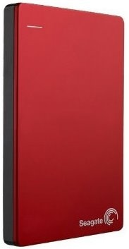 Seagate Backup Plus Slim 2 TB Portable External Hard Drive with 200 GB Cloud Storage (Red, Mobile Backup Enabled) Price in India