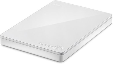 Seagate Backup Plus Slim 2 TB External Hard Drive with 200 GB Cloud Storage (White, Mobile Backup Enabled) Price in India