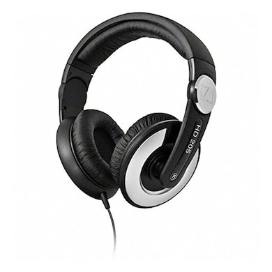 Sennheiser HD 205 II Closed Back Around Over Ear Stereo Headphone and Rotatable Ear Cup Black images, Buy Sennheiser HD 205 II Closed Back Around Over Ear Stereo Headphone and Rotatable Ear Cup Black online