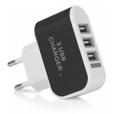 Shutterbugs 3 Port Charger Worldwide Adaptor Multicolor Price in India