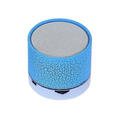 ShutterBugs Mini Portable Wireless S10 Bluetooth Speaker with LED light Mic Hand-free call Multicolor Price in India