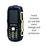 Buy Shutterbugs Rugged Mobile With Power Bank Inbuilt Flashlight With Waterproof, Dust/Shockproof Black Online